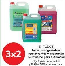Oferta de En TODAS las escobillas limpiaparabrisas Carrefour y lavaparabrisas  por