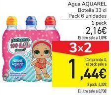 Oferta de Agua Aquarel por 2,16€
