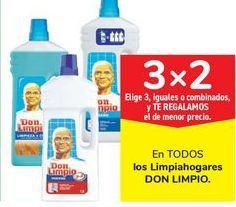 Oferta de En TODOS los limpiahogar Don Limpio por