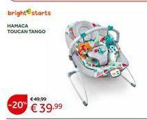Oferta de Hamaca de bebé Bright Stars por 39,99€