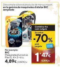 Oferta de Maquinilla desechable BIC por 4,89€
