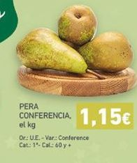 Oferta de Peras en almíbar por 1,15€