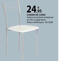 Oferta de Silla de cocina por 24,95€