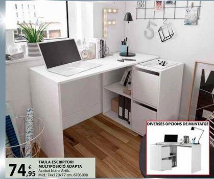 Oferta de Mesa de estudio por 74,95€