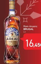 Oferta de Ron añejo Brugal por 16,45€