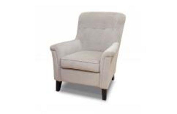Oferta de Butaca fija en color gris suave por 139,99€