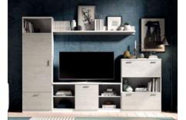 Oferta de Composición de estilo contemporáneo en color blanco poro y cemento por 299,99€