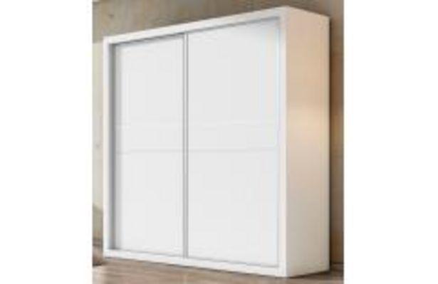 Oferta de Armario 2 puertas correderas en blanco poro por 434,99€
