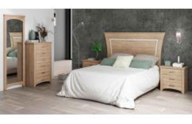 Oferta de Elegante dormitorio de matrimonio en roble cambrian por 599,99€