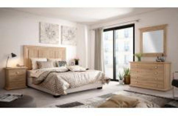 Oferta de Dormitorio de matrimonio en roble cambrian por 549,99€