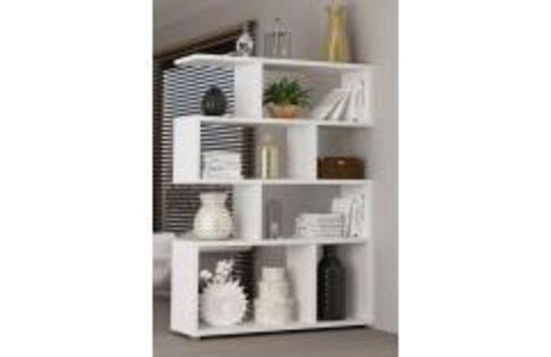 Oferta de Moderna estanteria en color blanco por 154,99€