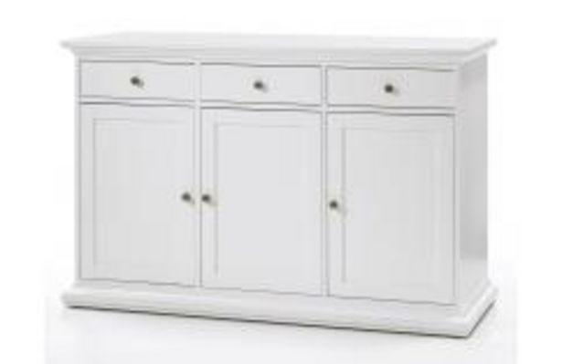 Oferta de Elegante aparador en color blanco por 279,99€