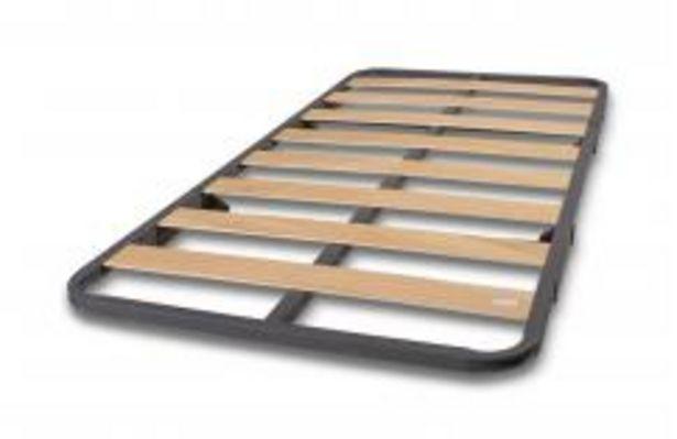 Oferta de Somier de arrastre de lamas de madera modelo 100 de 90x190 cm por 62,99€