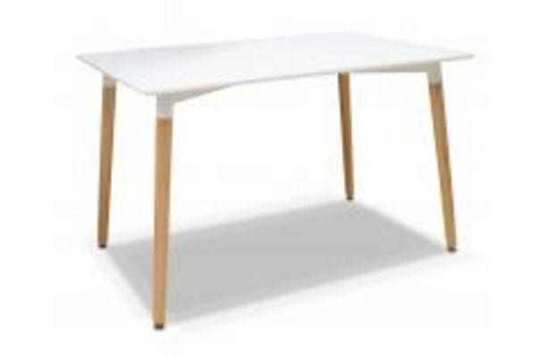 Oferta de Mesa fija en color blanco 120 cm. por 119,99€