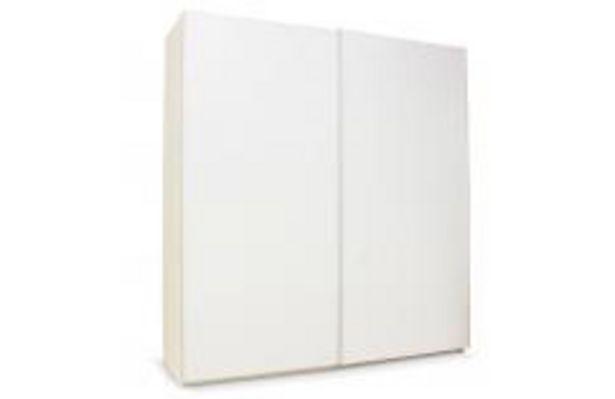 Oferta de Armario 2 puertas correderas blanco mod. Alcala por 259,99€