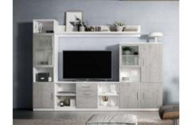 Oferta de Moderna composición en color blanco poro y pozzolana por 349,99€