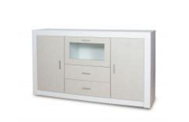 Oferta de Apilable de línea minimalista en blanco poro y gris nude por 259,99€