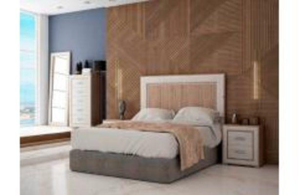 Oferta de Dormitorio de matrimonio en roble cambrian y nordik por 599,99€
