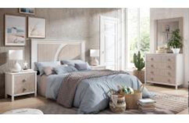 Oferta de Dormitorio de matrimonio en blanco poro y japandi por 499,99€