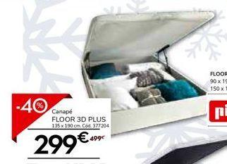 Oferta de Canapé abatible Pikolin por 299€