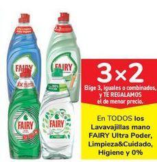 Oferta de En TODOS los Lavavajillas mano FAIRY Ultra Poderm Limpieza & cuidado, Higiene y 0%  por