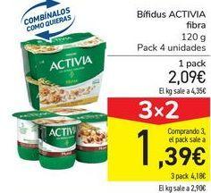 Oferta de Bífidus ACTIVIA fibra por 2,09€