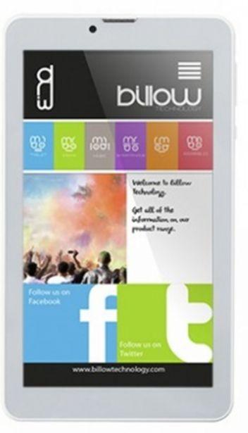 Oferta de Tablet billow 7 ips 1024x600 quad core 1.3ghz 8gb por 67,6€