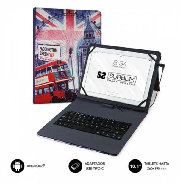 Oferta de Subblim keytab usb 101 england por 16,5€