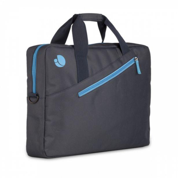Oferta de Ngs maletin portatil 15.6con bolsillo ext.azul por 7,2€