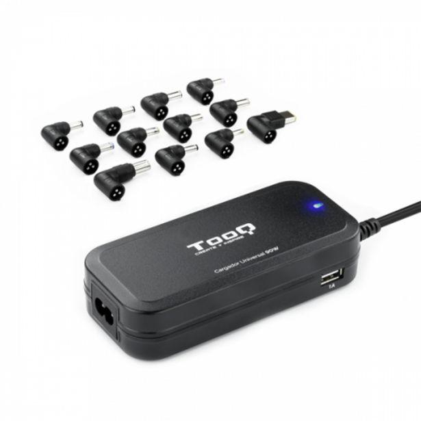 Oferta de Cargador uni portatil tooq tqlc-90bs02at 90w auto por 21,1€