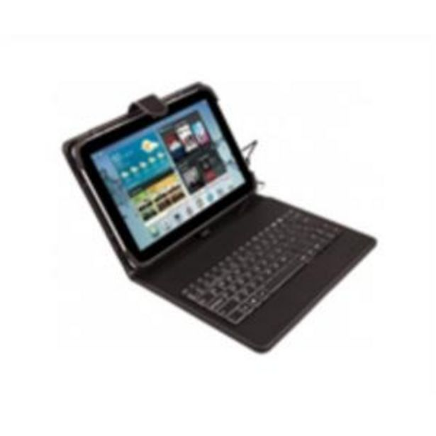 Oferta de Universal case 9in-10.1inwired keyboard microusb por 12,6€