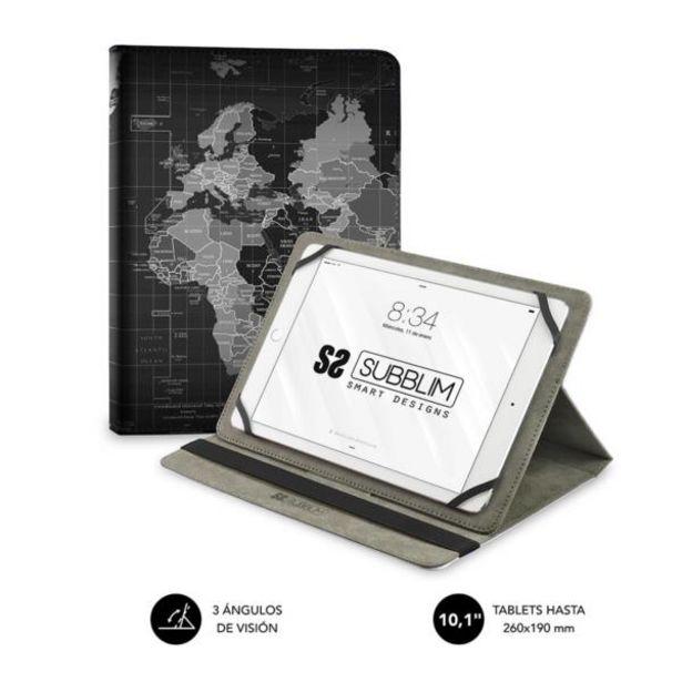 Oferta de Subblim funda tablet universal trendy case world m por 14,2€