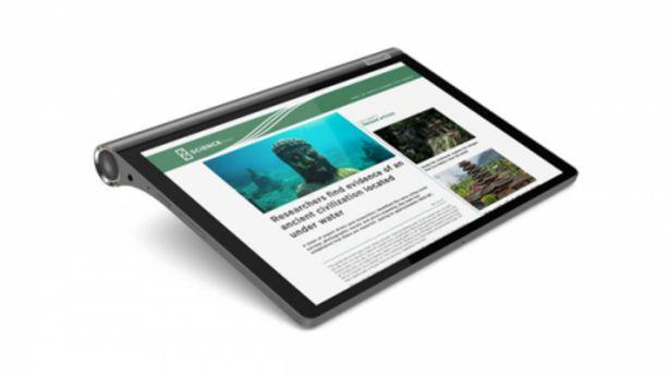 Oferta de Tablet lenovo yt-x705f s10 yoga smart tab 4gb 64gb por 252,5€