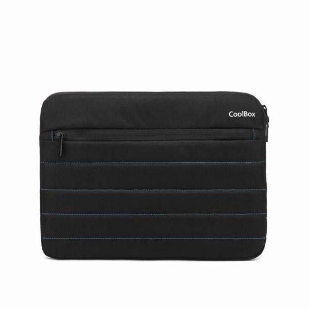 Oferta de Coolbox funda portatil 13negro-impermeable por 6,3€