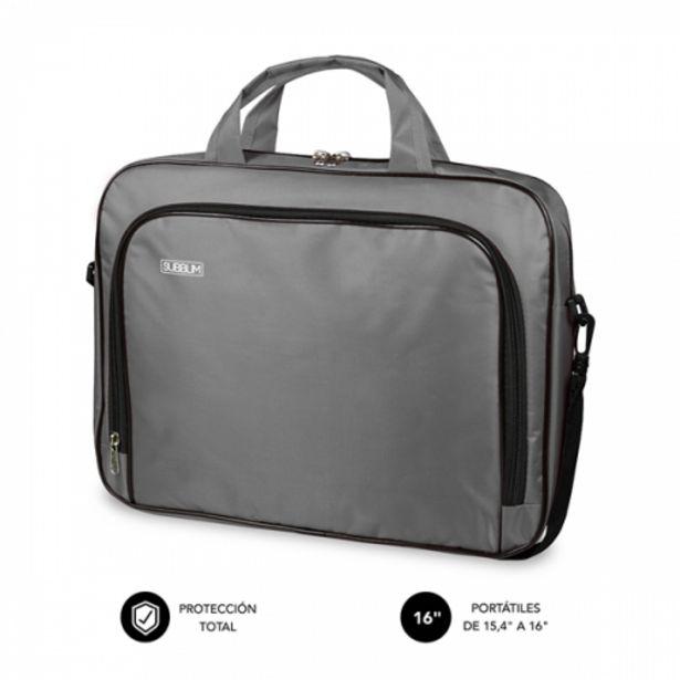 Oferta de Subblim oxford laptop bag 154-16 grey por 8,7€