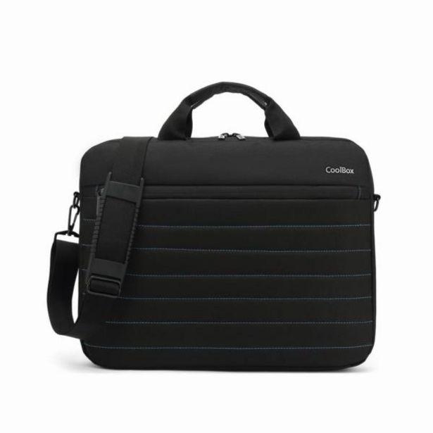 Oferta de Coolbox maletin portatil15.6 negro-impermeable por 11€