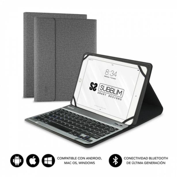 Oferta de Subblim keytab pro bluetooth 101 grey por 23,8€