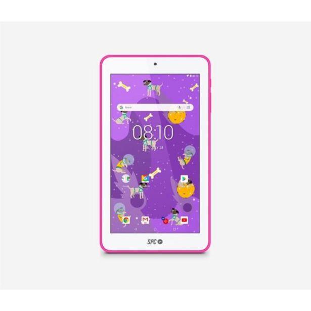 Oferta de Spc tablet 7 qc laika 1gbram 8gb interna rosa por 60,1€