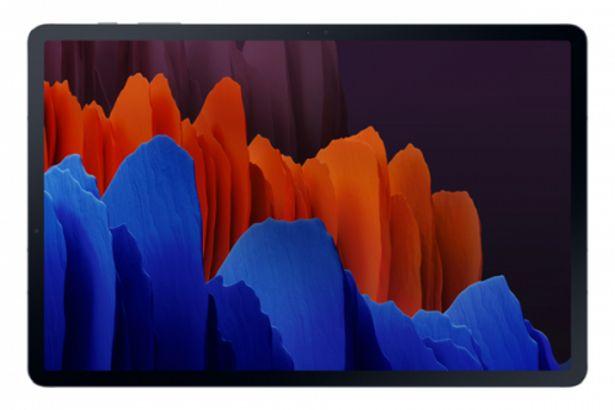 Oferta de Tablet samsung sm-t970nzkaeub s7 128 wifi por 880,3€