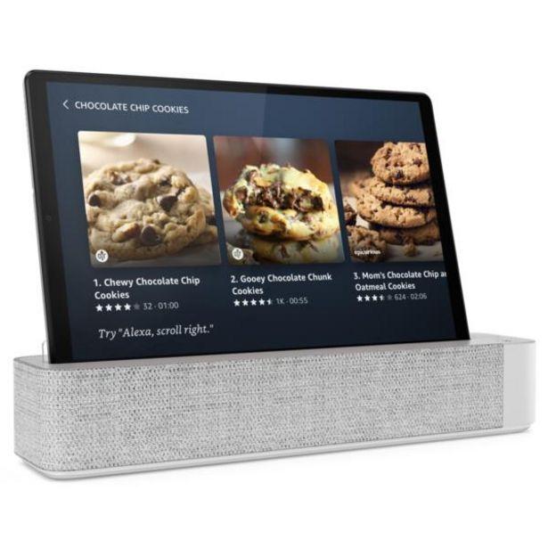 Oferta de Tablet lenovo smart tab m10 octa core 10 con alexa por 172,5€