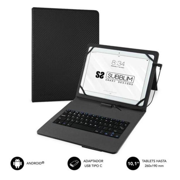 Oferta de Subblim keytab pro usb 101 black por 16,2€