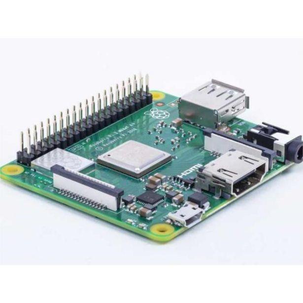 Oferta de Raspberry placa base pi 3modelo a- cortex a 1.4gh por 32,8€