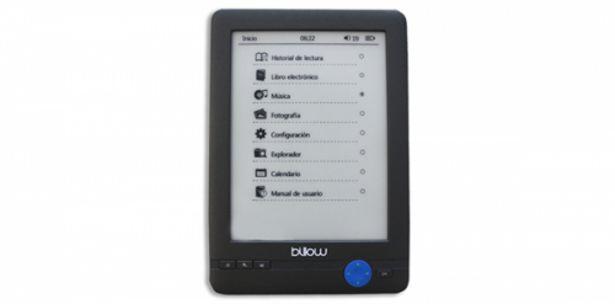 Oferta de Billow e03t ebook readere03t 6 e-ink 4gb tactil por 84€