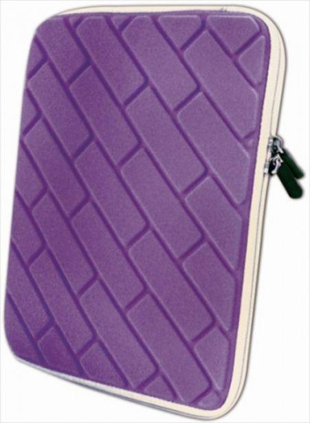 Oferta de Funda tablet 10 approx case purpura por 2,8€