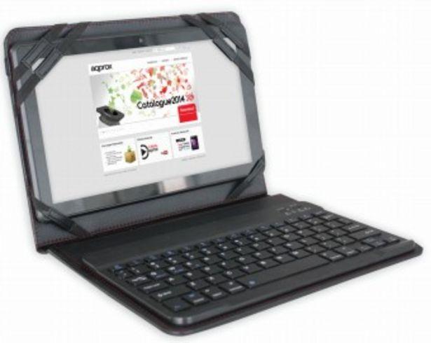 Oferta de Funda approx 9.7-10 con teclado bluetooth appipck0 por 17,7€