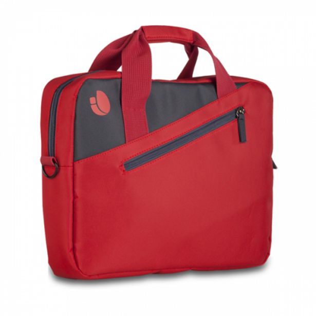 Oferta de Ngs maletin portatil 15.6con bolsillo ext.rojo por 7,1€