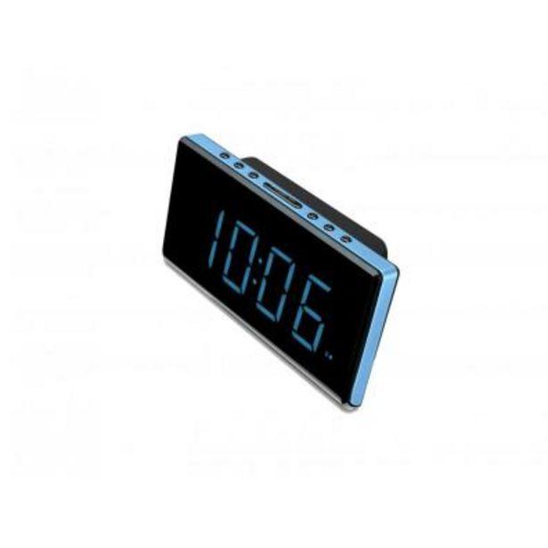 Oferta de Radio Despertador Sunstech FRD28 Azul por 23,9€