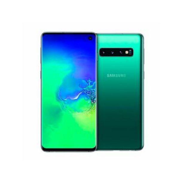 Oferta de Smartphone Samsung Galaxy S10 8GB/128GB Verde por 499€