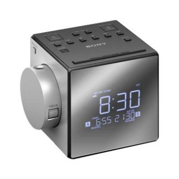 Oferta de Radio Despertador Sony ICF-C1PJ por 64,9€