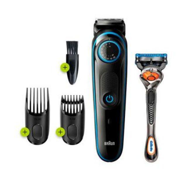 Oferta de Barbero/Perfilador Braun Cuidado personal BT5240 Negro por 35,7€